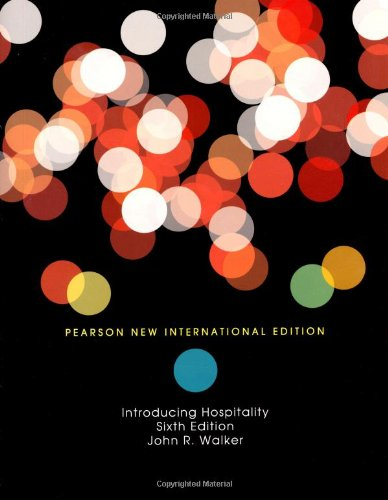 9781292020068: Introduction to Hospitality