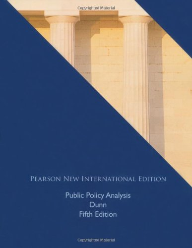 9781292020211: Public Policy Analysis: International Edition, 5e