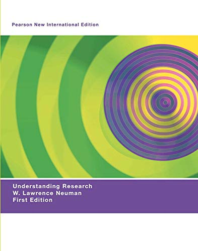 9781292020280: Understanding Research: Pearson New International Edition
