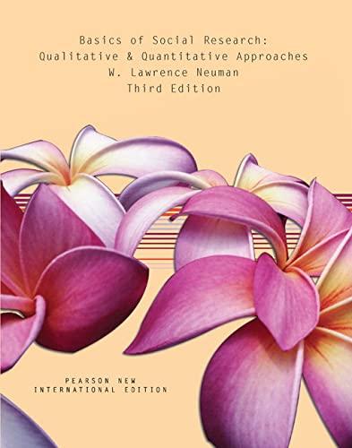 9781292020341: Basics of Social Research: Qualitative and Quantitative Approaches