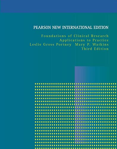 9781292020365: Foundations of Clinical Research: Pearson New International Edition: Applications to Practice
