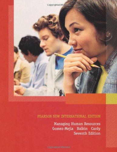 9781292020426: Managing Human Resources