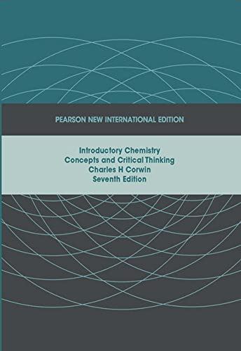 9781292020600: Introductory Chemistry: Concepts and Critical Thinking