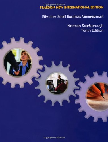 9781292020648: Effective Small Business Management