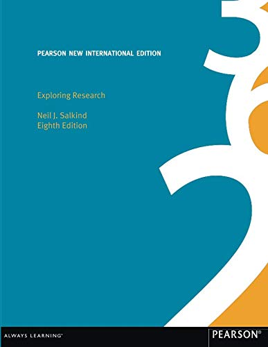 9781292020686: Exploring Research: Pearson New International Edition