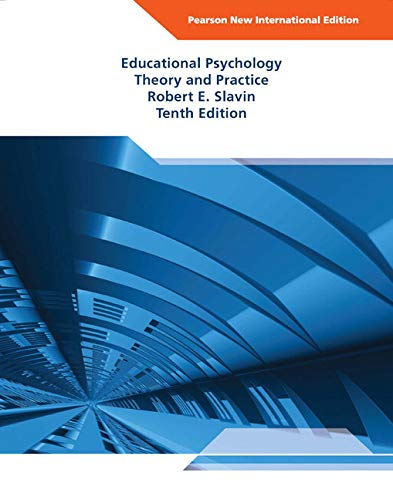 9781292020730: Educational Psychology: Theory and Practice