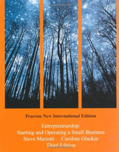 9781292020822: Entrepreneurship: Pearson New International Edition:Starting and Operating a Small Business