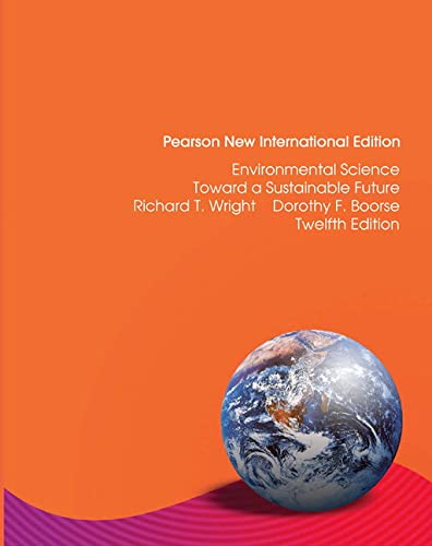 9781292020846: Environmental Science: Pearson New International Edition: Toward a Sustainable Future
