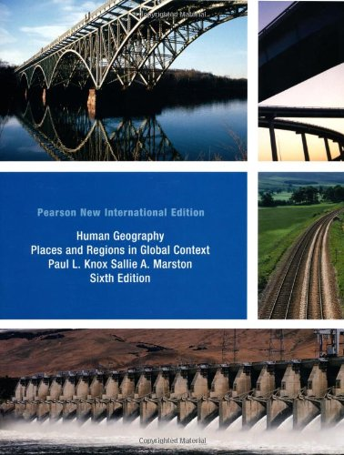 9781292020877: Human Geography: Places and Regions in Global Context