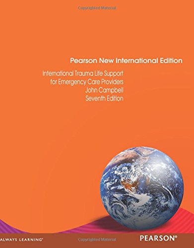 9781292020891: International Trauma Life Support for Emergency Care Providers: Pearson New International Edition