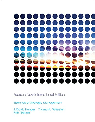 9781292020907: Essentials of Strategic Management: Pearson New International Edition