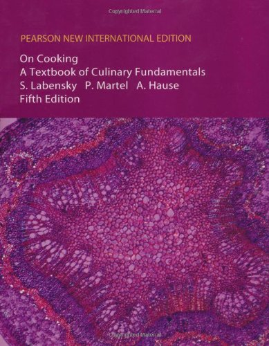 9781292020952: On Cooking: A Textbook of Culinary Fundamentals