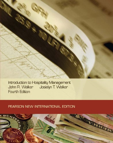 9781292021010: Introduction to Hospitality Management: Pearson New International Edition