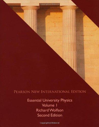 9781292021034: Essential University Physics: Volume 1
