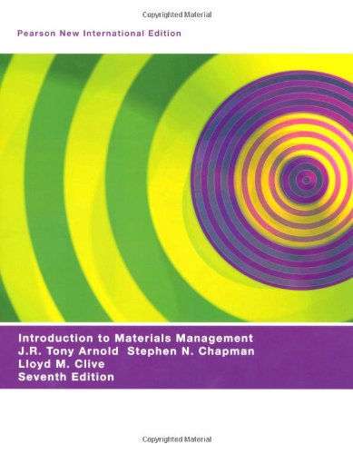 9781292021089: Introduction to Materials Management: