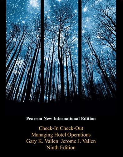 9781292021102: Check-in Check-Out: Pearson New International Edition: Managing Hotel Operations