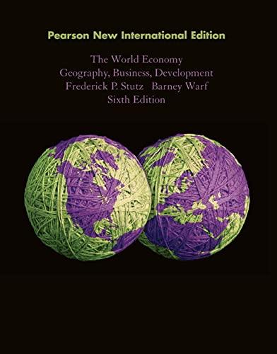 9781292021195: World Economy, the: Pearson New International Edition Geography, Business, Development