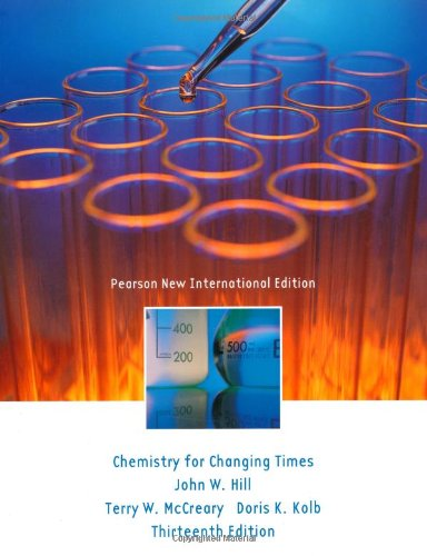 9781292021218: Chemistry For Changing Times: Pearson New International Edition