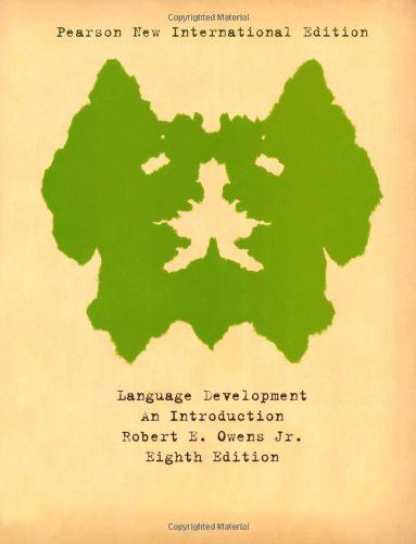 9781292021225: Language Development: An Introduction