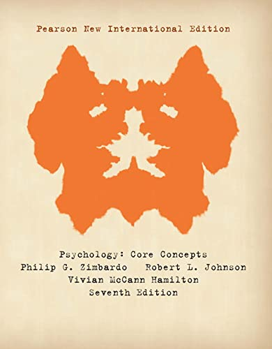 9781292021249: Psychology: Core Concepts
