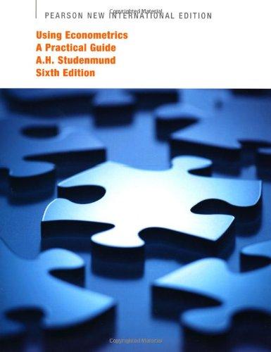 9781292021270: Using Econometrics: Pearson New International Edition