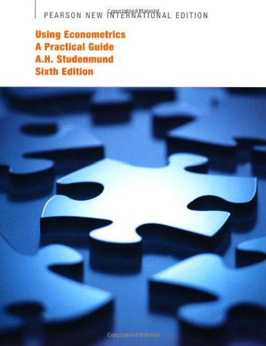 9781292021270: Using Econometrics: A Practical Guide