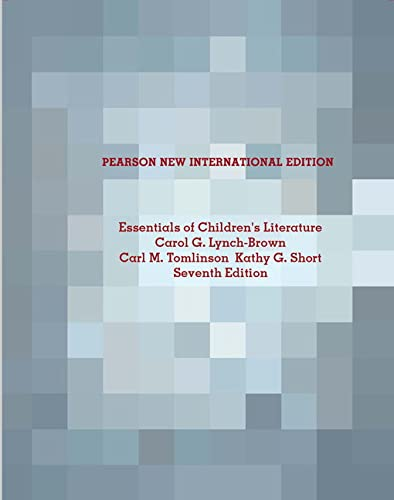 9781292021348: Essentials of Children's Literature: Pearson New International Edition