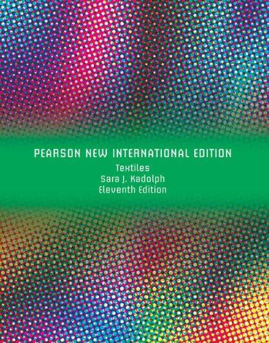 9781292021355: Textiles: Pearson New International Edition