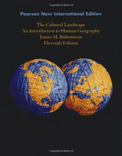 9781292021430: The Cultural Landscape: An Introduction to Human Geography