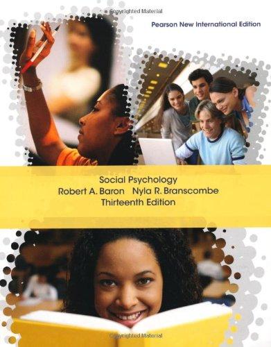 9781292021447: Social Psychology