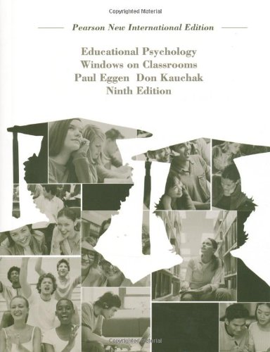 9781292021461: Educational Psychology: Windows on Classrooms