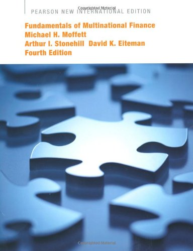9781292021508: Fundamentals of Multinational Finance