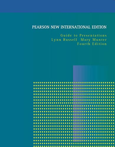 9781292021546: Guide to Presentations: Pearson New International Edition