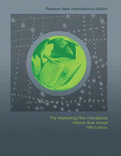 Marketing Plan Handbook: Pearson New International Edition: Wood, Marian Burk