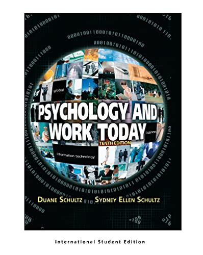 9781292021683: Psychology and Work Today, 10th Edition: International Edition
