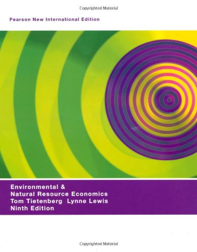9781292021799: Environmental & Natural Resources Economics