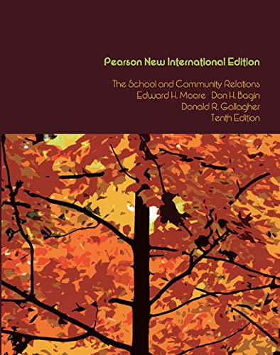 9781292021881: School and Community Relations, The: Pearson New International Edition