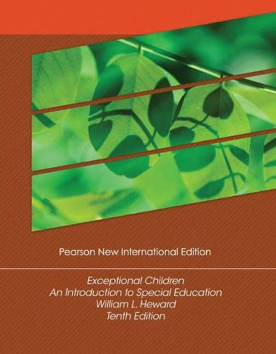 9781292022024: Exceptional Children: Pearson New International Edition An Introduction to Special Education