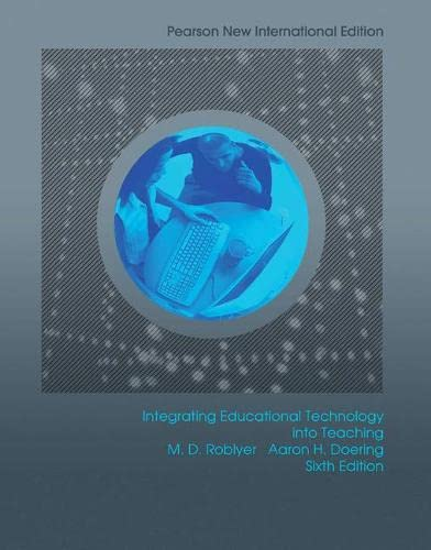 9781292022086: Integrating Educational Technology into Teaching: Pearson New International Edition