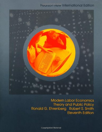 9781292022130: Modern Labor Economics: Pearson New International Edition: Theory and Public Policy