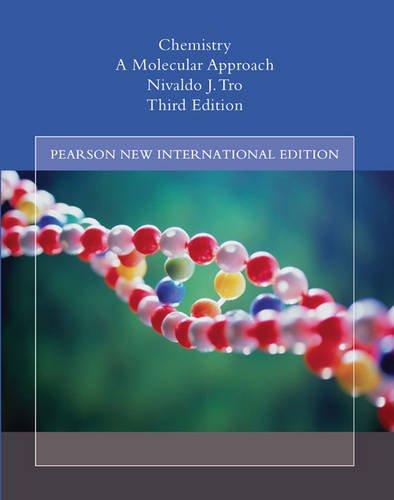 9781292022185: Chemistry: Pearson New International Edition A Molecular Approach