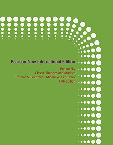 9781292022253: Personality: Pearson New International Edition Classic Theories and Modern Research