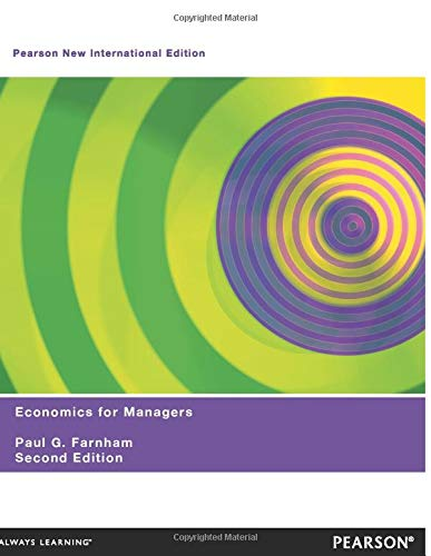 9781292022277: Economics for Managers