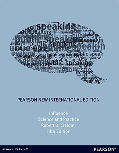 9781292022291: Influence: Pearson New International Edition: Science and Practice