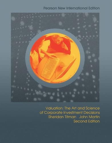 9781292022321: Valuation: Pearson New International Edition