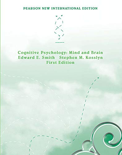 9781292022352: Cognitive Psychology: Pearson New International Edition:Mind and Brain