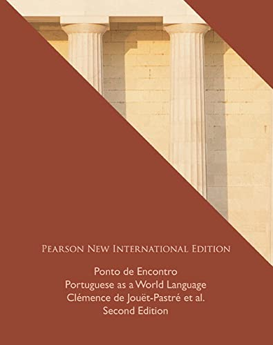 Ponto de Encontro: Pearson New International Edition: Clemence Jouet-Pastre, Anna