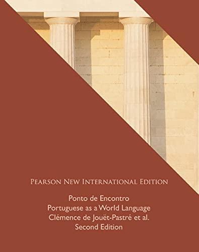 9781292022482: Ponto de Encontro: Pearson New International Edition: Portuguese as a World Language