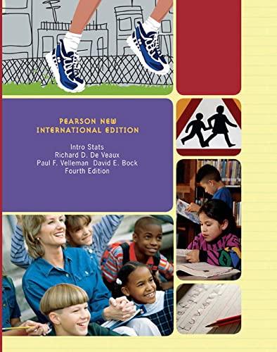 9781292022505: Intro Stats Pearson New International Edition
