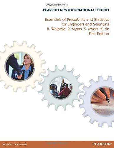 9781292022536: Essentials of Probability & Statistics for Engineers & Scientists:Pearson New International Edition